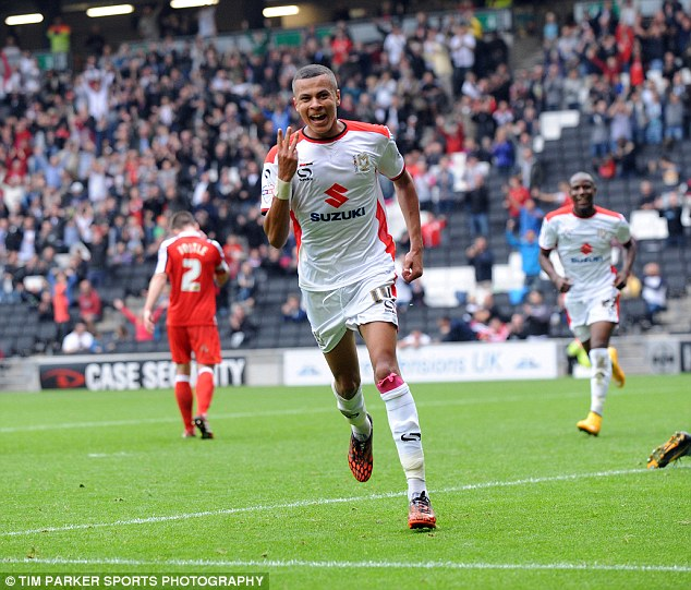 Will Dele Alli finish the season at MK Dons?
