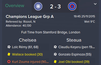Conquering Stamford Bridge – Road to Success in FM15: Steaua Bucharest, Part 2