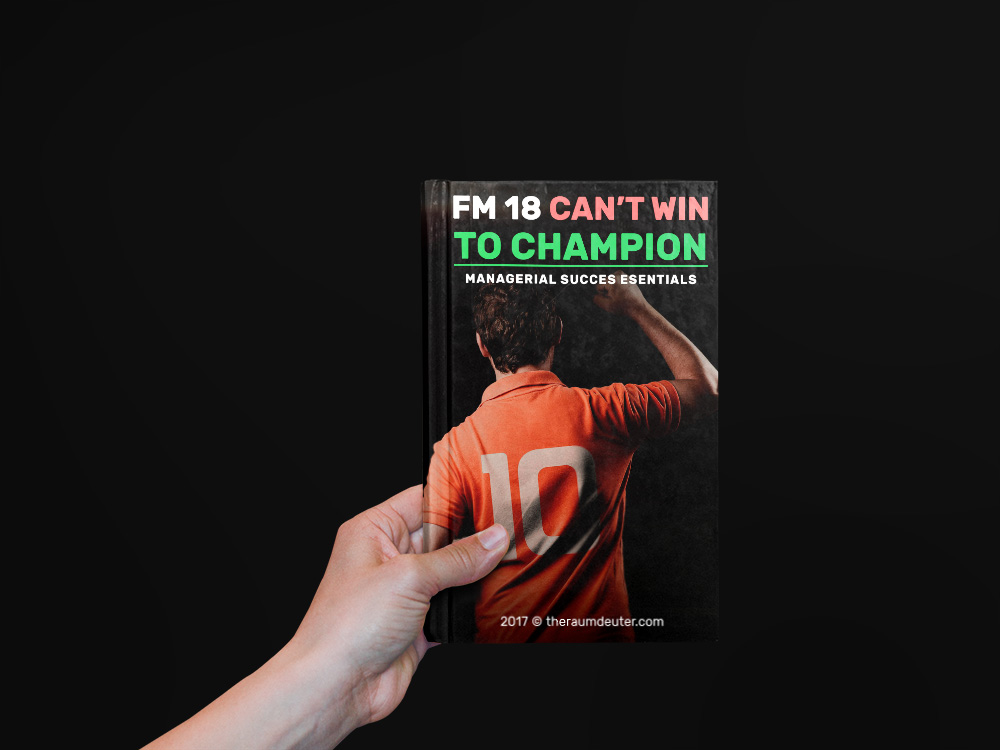 Football Manager 2018 eBook, guide, handbook